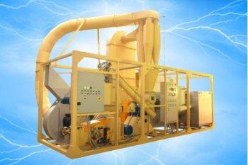 Мобильный завод по производству брикетов 0,4 т/час